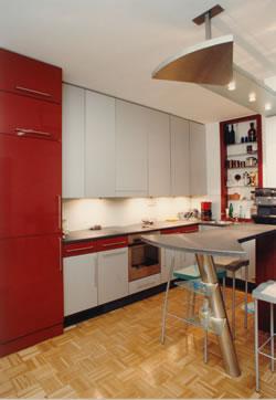 bcs möbelwerkstätten köln - küchen vom schreiner - Küche Stehtisch