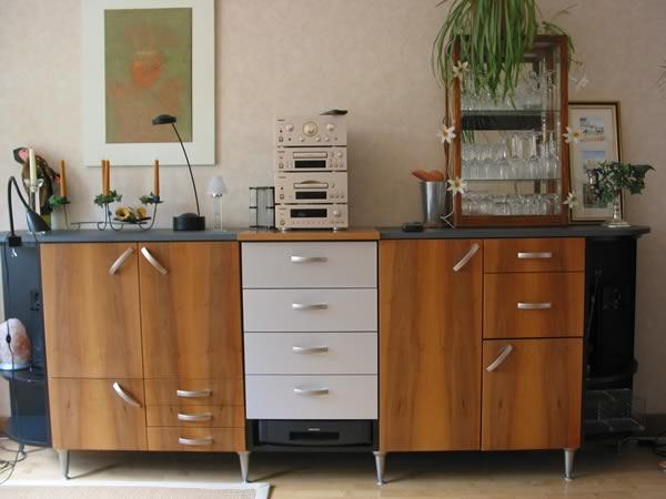 bcs m belwerkst tten k ln holz sideboard einbauschrank. Black Bedroom Furniture Sets. Home Design Ideas
